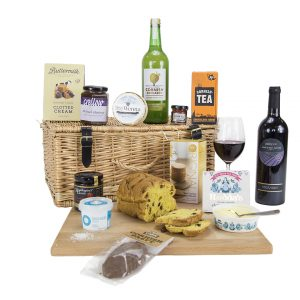 Classic Cornish Hamper Red Wine