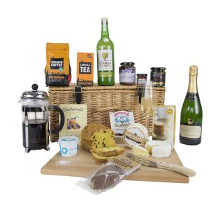 Luxury Cornish Hamper with Camel Valley Brut