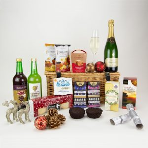 Christmas Hamper with Champagne